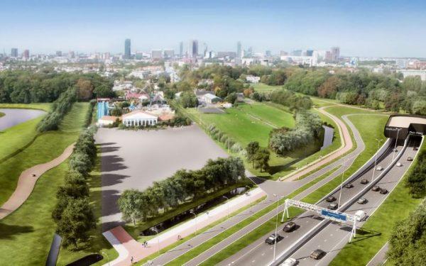 Start bouw tunnel Rotterdamsebaan