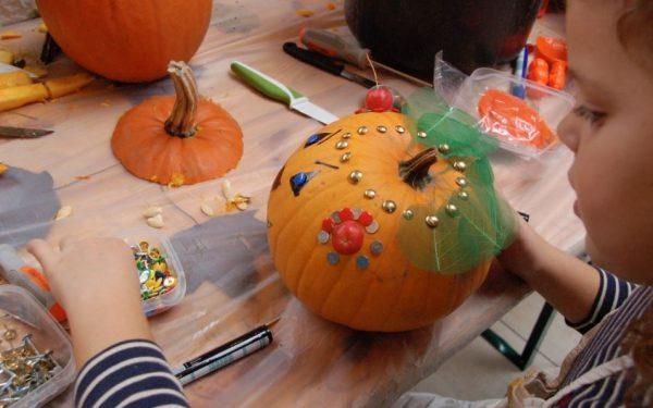 Gratis Halloween Pompoen workshop in De Bogaard