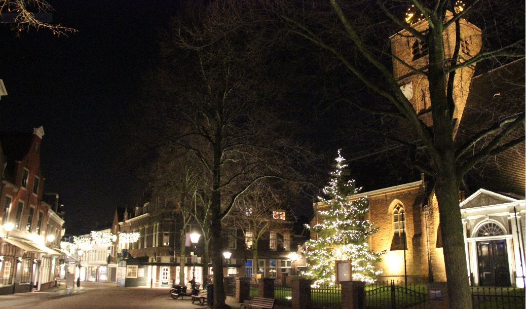 Sprookjesachtige Sfeer Met Lichtjes In Kerstboom Rijswijk Tv