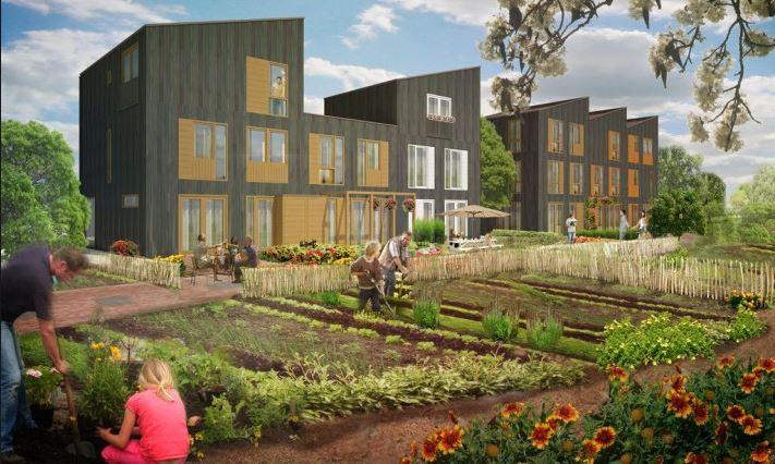 Op het nieuwe landgoed sion gaan 50 gezinnen wonen for Wonen op een landgoed