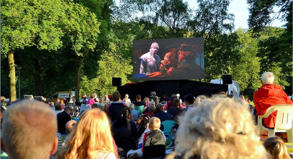 Ook grote evenementen in Wilhelminapark