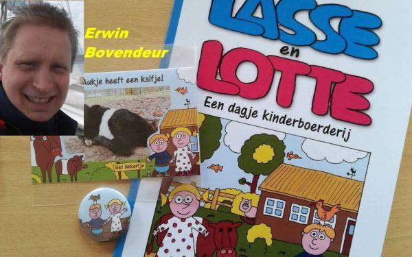 """Nieuwe strip: Lasse en Lotte """"een dagje kinderboerderij"""""""