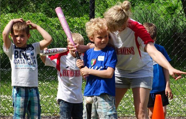 Rijswijkse kids enthousiast aan slag bij Red Lions