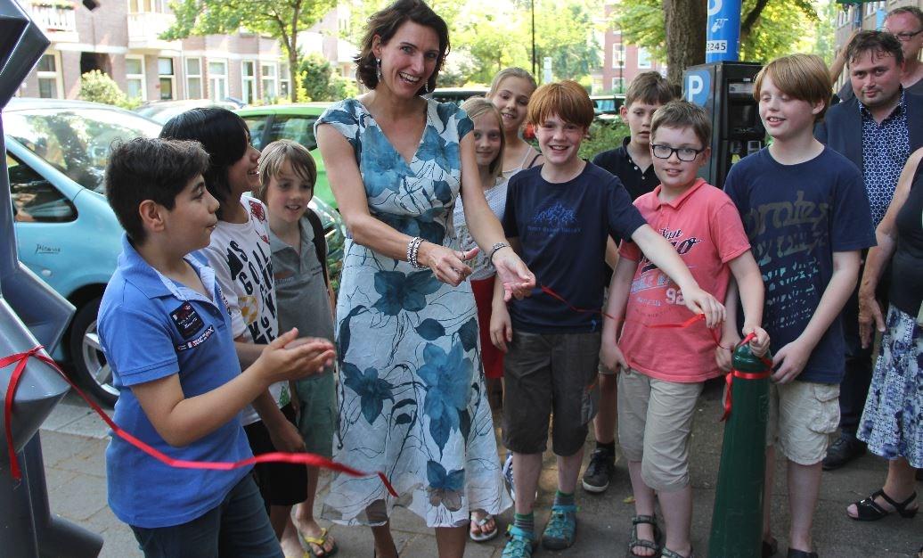 Kids Kronenburghschool beginnen eigen bedrijf