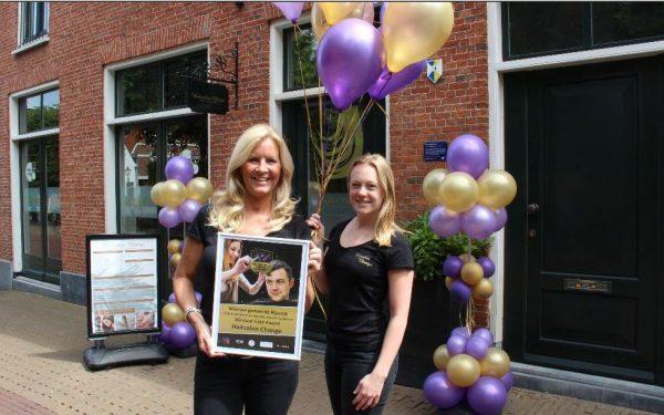 Jacqueline Jacobs van 'Haarsalon Change' wint twee prijzen