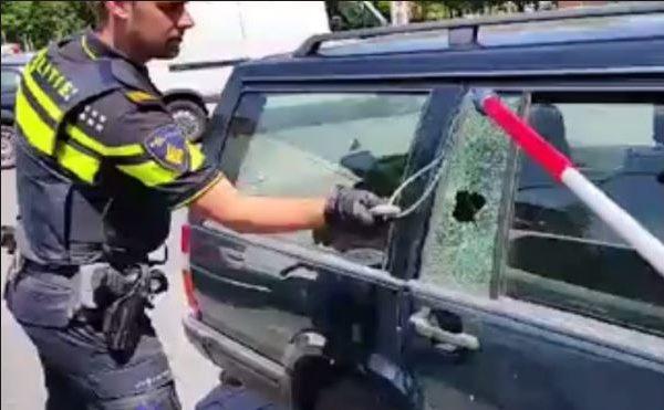 Petitie: Hoge straffen voor hond in hete auto