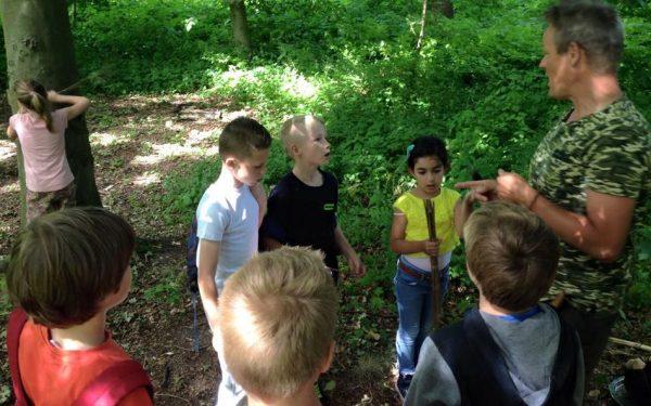 Rijswijkse kids overleven in de natuur