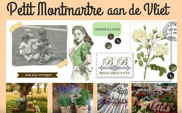 Zelf op 'Petit Montmartre aan de Vliet' staan