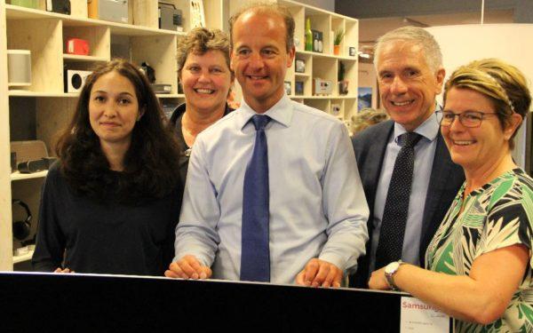 Vivienne Medik, aanspreekpunt voor ondernemers Oud Rijswijk