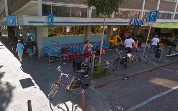 Albert Heijn Kerklaan krijgt meer fiets parkeerplaatsen