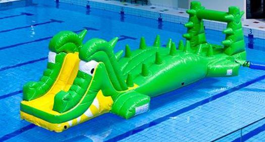 Nieuwe krokodillenrun in Zwembad De Schilp