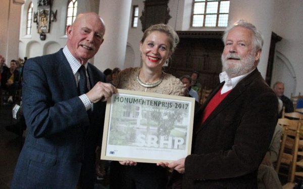 Monumentenprijs voor Stichting Historische Projecten
