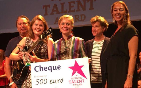 Marin Pols wint Rijswijk Talent Award 2017