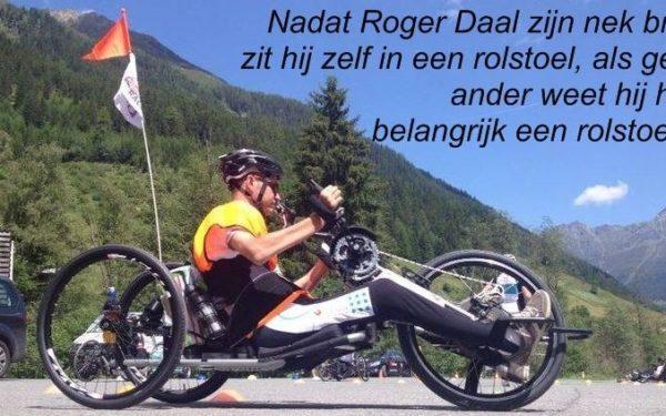 Roger Daal is specialist voor maatwerk rolstoelen