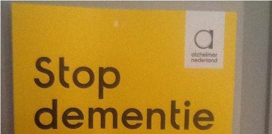 Collecteren voor Alzheimer Nederland