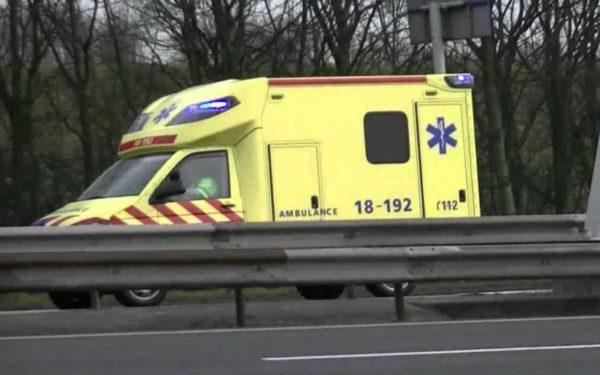 Vijf ambulances bij aanrijding op A13