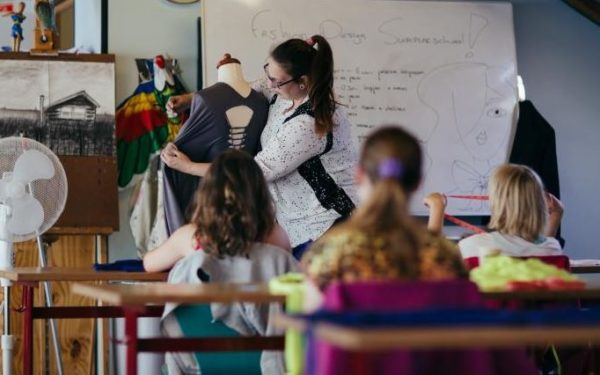 Extra cursus Fashion design bij Trias