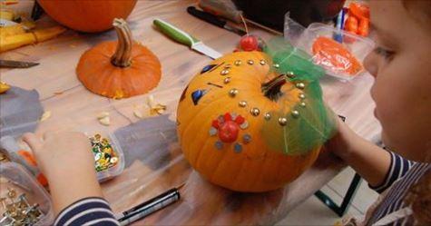 Maak zelf een Halloween pompoen in De Bogaard