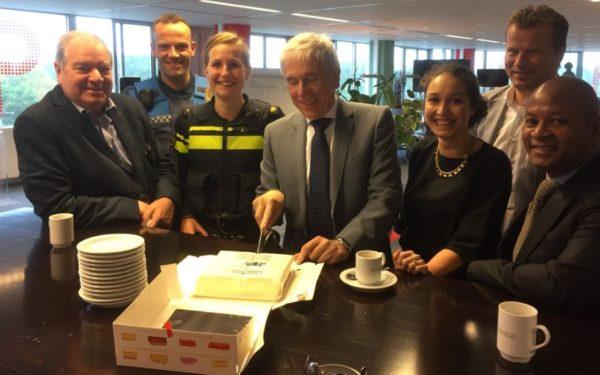 Wethouder René van Hemert opent Bedrijfsscontactpunt