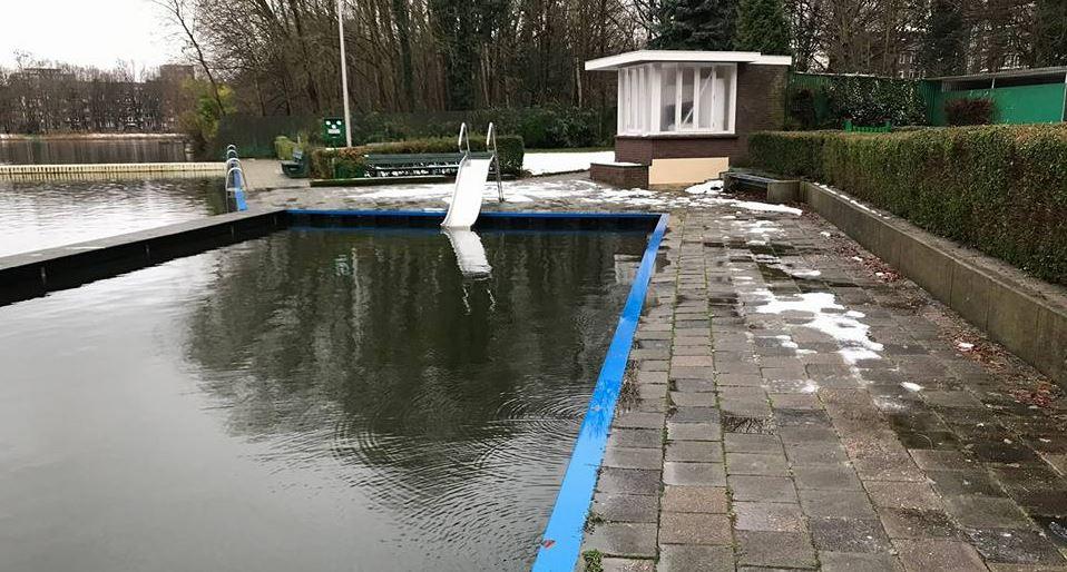 bvr: gemeente herstel waterschade aan zwembad de put - rijswijk.tv
