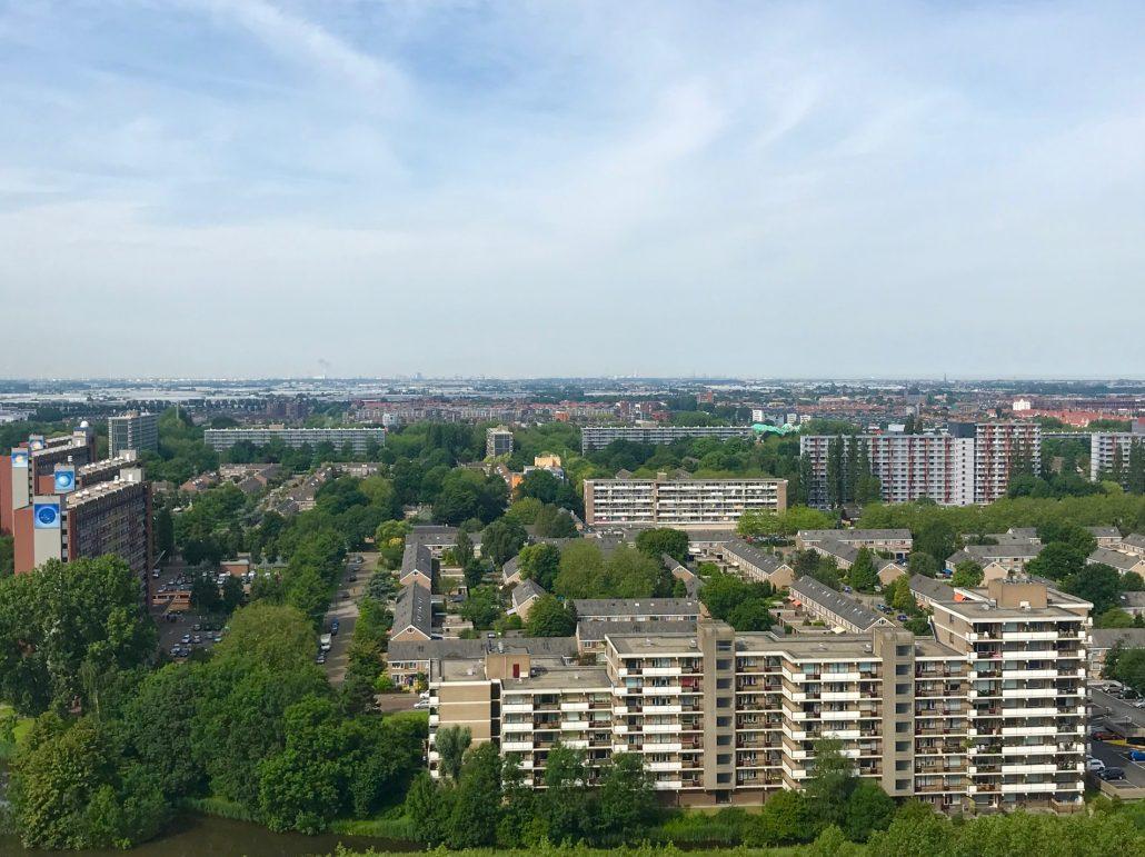 Rijswijk vanuit de lucht
